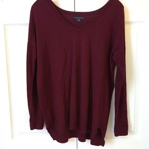 American Eagle - Sweater - Burgundy